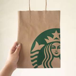 STARBUCKS PAPER BAG