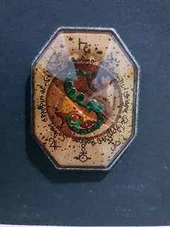 Slytherin Locket Medallion Pin, Loot Crate Exclusive