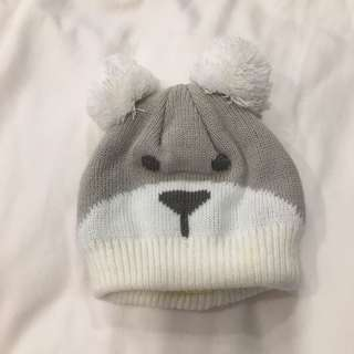 Cute baby beanie hats cap bear