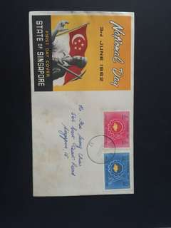 1962 National Day FDC