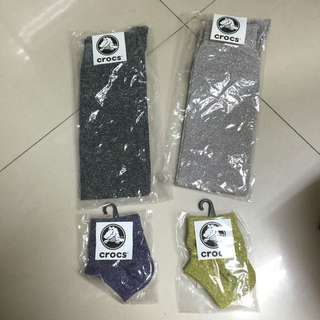 Crocs襪子 四個一起賣