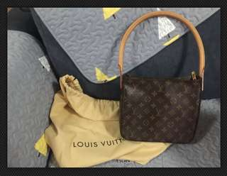 Authentic Louis Vuitton Looping MM Bag