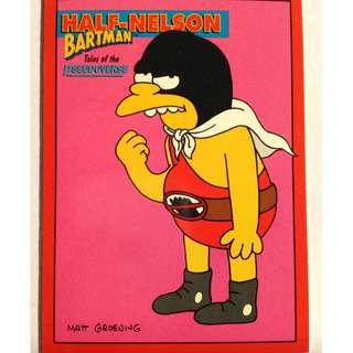 1994 Skybox Simpsons Series 2 Base Card #B9 Half Nelson