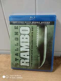 The Complete Rambo Collection - All 4 movies are in this set - Blu-ray - US import (original)