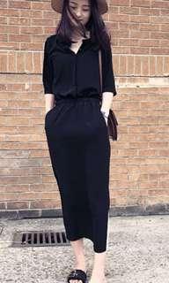 女 黑的長裙