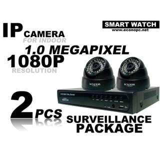CCTV IP Indoor Camera Package for your Home or Business Use