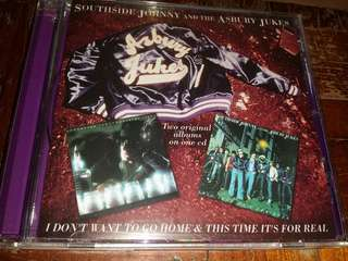 Music CD: Southside Johnny And The Asbury Jukes–I Don't Want To Go Home & This Time It's For Real