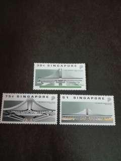 Singapore Stamps Indoor Stadium