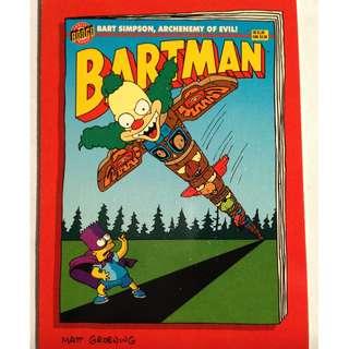1994 Skybox Simpsons Series 2 Base Card #B6 Camp Krusty's Krazy Daze