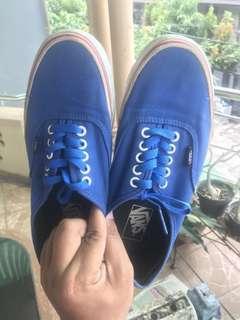 Vans original blue / biru