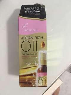 Argan rich hair oil