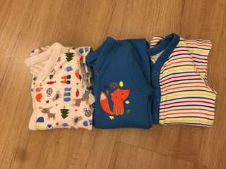 3 pcs sleepsuit