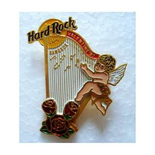 Hard Rock Cafe BANGKOK 1997 Valentine's Day PIN  - HRC Catalog #920