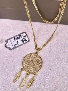 18k DREAMCATHER NECKLACE