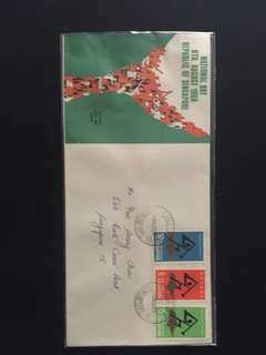 1968 National Day FDC
