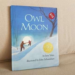 Owl moon award winner