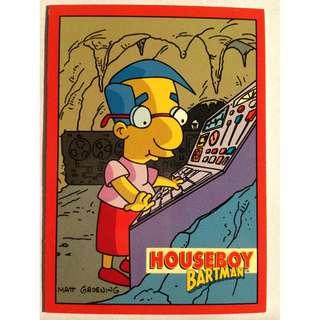 1994 Skybox Simpsons Series 2 - Base Card #B1 - Houseboy