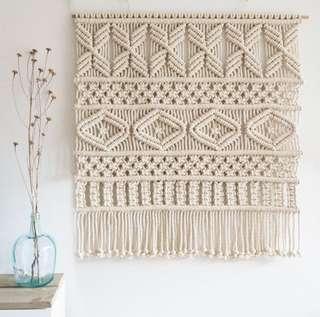 Macrame Wall Art Hanging / Rope Art / Fiber Art Tapestry