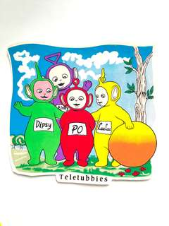 Teletubies, Disney, Jackie Stickers