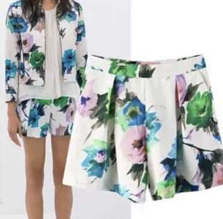 CLEARANCE | Zara Inspired Casual Floral Shorts