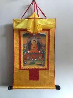 唐卡 釋迦牟尼佛
