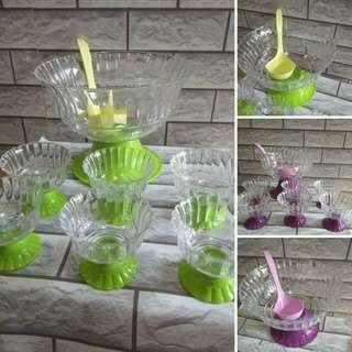 ❌Set mangkuk&gelas cantik