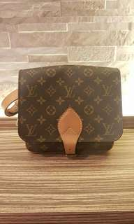 AUTHENTIC LOUIS VUITTON Monogram Canvas Cartouchiere -  SLING MESSENGER BAG