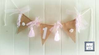 1st Birthday Banner/Garland