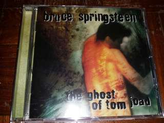 Music CD: Bruce Springsteen ‎– The Ghost Of Tom Joad