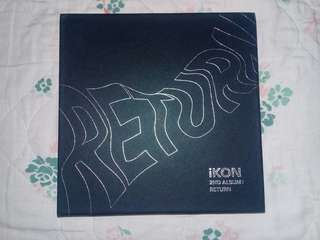 iKON Return Album (Black Version)
