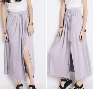 CLEARANCE   Pastel Maxi Slit Skirt