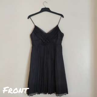 Zara Black Babydoll Dress