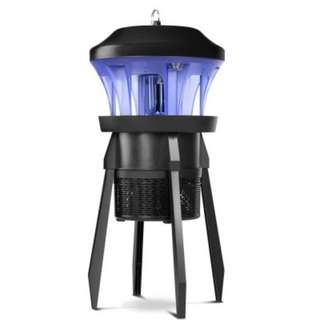 Electric Bulb Insect Zapper High Efficiency Black