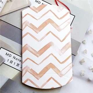 2pcs Mini pillow box (Stripes)