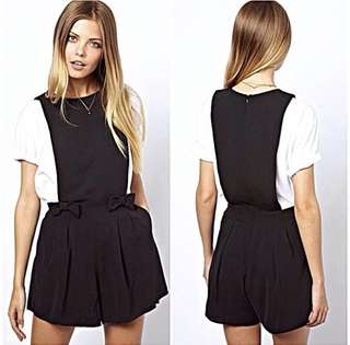 CLEARANCE | ASOS Inspired Pinafore Romper