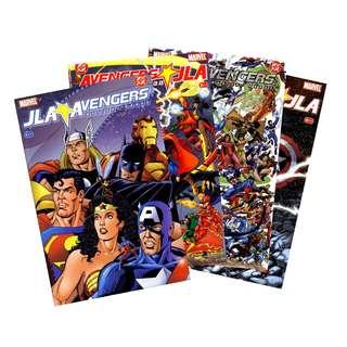 JLA / Avengers #1-4 Complete Set