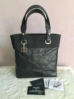 Authentic Chanel Biarritz Shopping Tote Bag