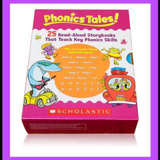 🎈🌈Title: Scholastic Phonics Tales🌈🎈 VERY limited stocks