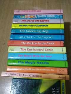 12 x Hard Covered Enid Blyton Books