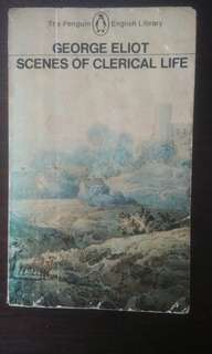 Book: Scenes of Clerical Life by George Eliot