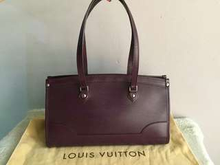 Authentic Louis Vuitton Madeleine PM-Dark Purple