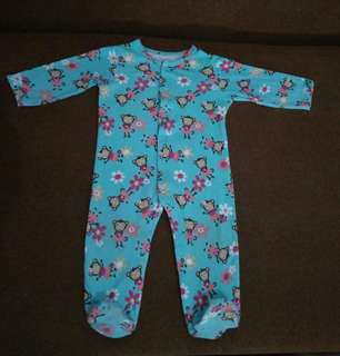 Sleepsuit monkey size 6-9 bln