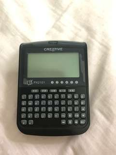 Creative px2101 Chinese dictionary electronic