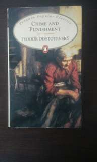 Book: Crime and Punishment by Fyodor Dostoevsky