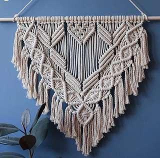 Macrame Wall Art Hanging Rope Art Fiber Art Tapestry