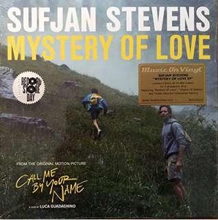 """Sufjan Stevens: Mystery Of Love EP (Colored Vinyl) Vinyl 10"""" (Record Store Day)"""