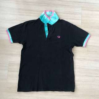 fred perry tie-dye polo tee made in JAPAN