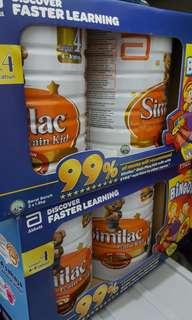 [Bundle deal] Abbott Similac Gain Kids (4-9years old) 1.8kg x2 + free bingo set