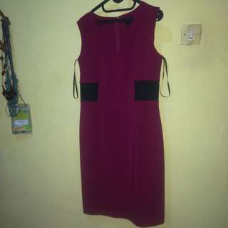 Midi Dress On Shocking