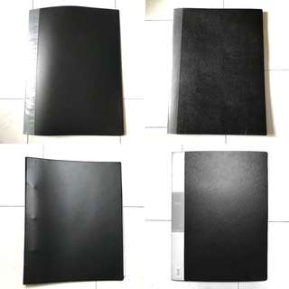File with folder - A3 size
